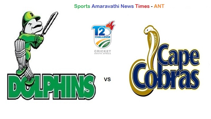 CSA T20 Challenge 2019 | Dolphins vs Cape Cobras, 29th Match Cricket News Updates