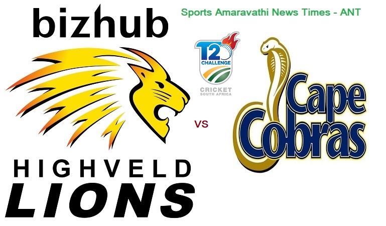 CSA T20 Challenge 2019 | Lions vs Cape Cobras, 3rd Match Cricket News Updates