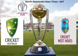 ICC World Cup Cricket 2019 Australia(AUS) vs West Indies(WI) Match 10 Cricket News Updates