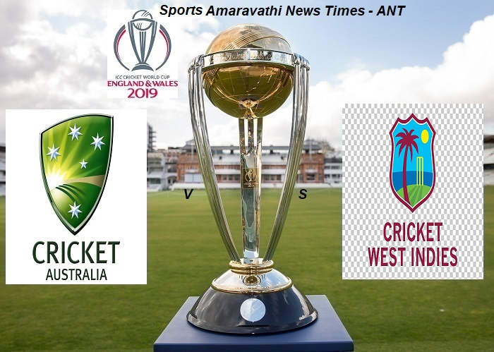 ICC World Cup Cricket 2019 Australia(AUS) vs West Indies(WI) Match 10 Cricket News Updates