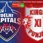 DC vs KXIP 2nd Match| Dream11 IPL 2020 T20 Cricket News Updates