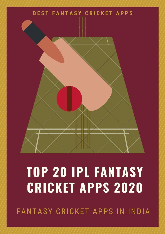 Top 20 IPL Fantasy Cricket Apps 2020 in India