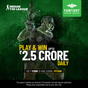 Play Indian T20 Fantasy Cricket League 2021 and Win Crores Daily