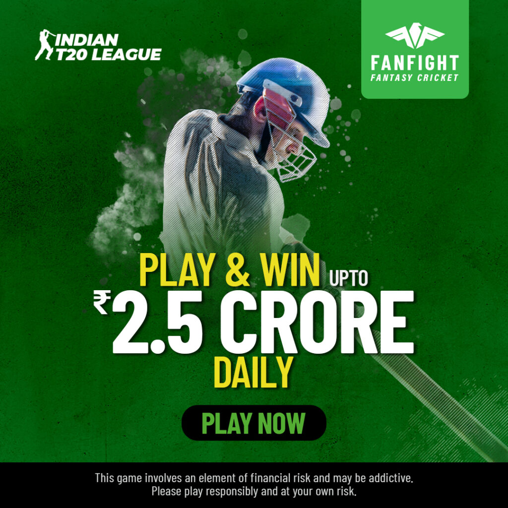 Play Indian T20 Fantasy Cricket League 2021 and Win Cash Big Daily Online