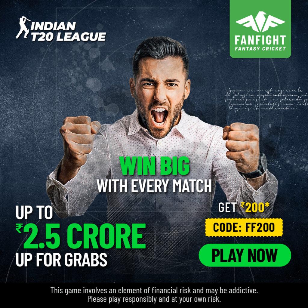 Play IPL Fantasy Cricket 2021 and Win upto 2.5 Crores Daily